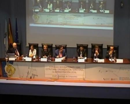 Mesa redonda - Xornadas Internacionales sobre Estructura e Organización Territorial da Administración Local